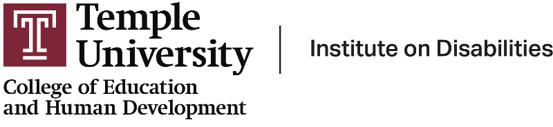 Institute on Disabilities at Temple University College of Education and Human Development logo