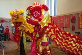 Photo from Woodstock Library Chinese New Year Celebration