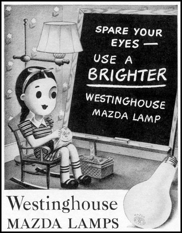 WESTINGHOUSE MAZDA LAMPS LIFE 06/01/1942 p. 18
