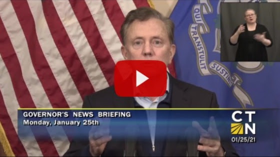 Video of Governor Lamont news briefing