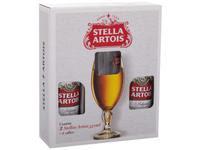 Kit Cerveja Stella Artois Lager 2 Unidades 550ml