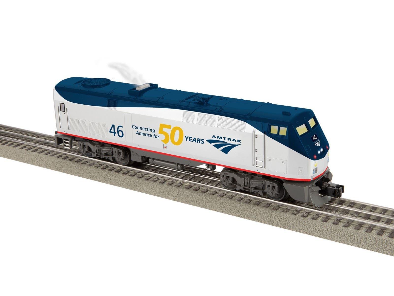 Lionel Trains 2234080 Amtrak 50th Anniversary LionChief Plus 2.0 Genesis #46