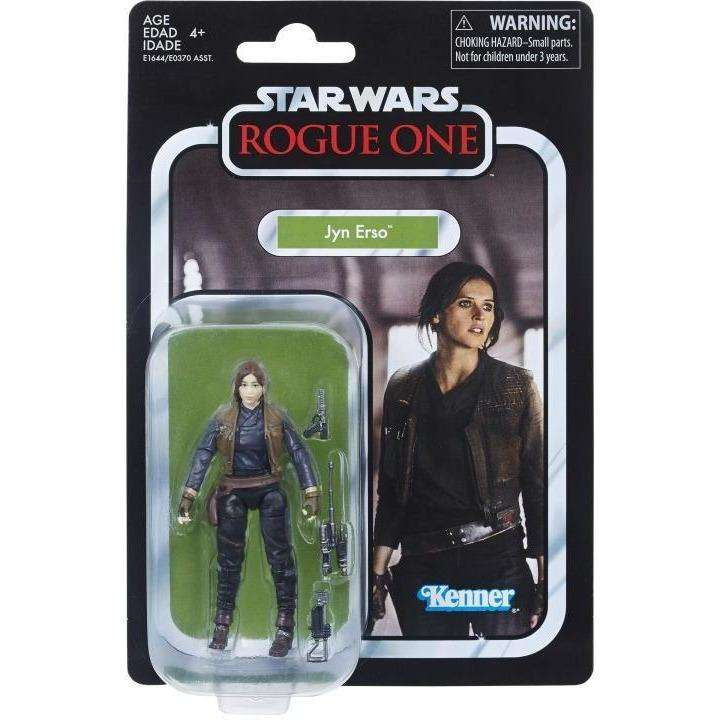 "Image of Star Wars: The Vintage Collection 3.75"" Wave 1 - Jyn Erso Action Figure"