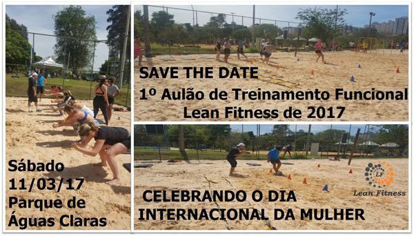 1º Aulão de Treinamento Funcional Lean Fitness de 2017