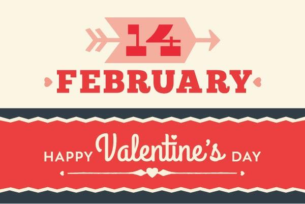 14 February - Happy Valentine's Day