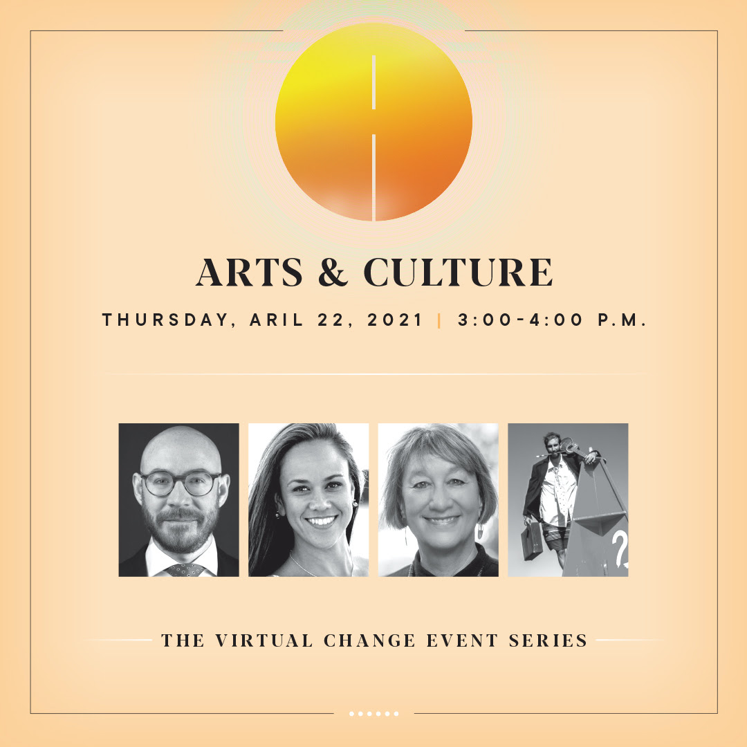 Click here to learn more about this Thursday's Arts & Culture event!