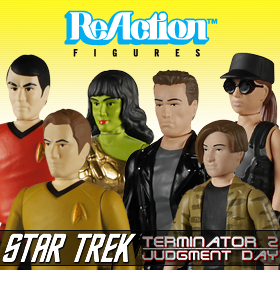 FUNKO REACTION STAR TREK AND T2