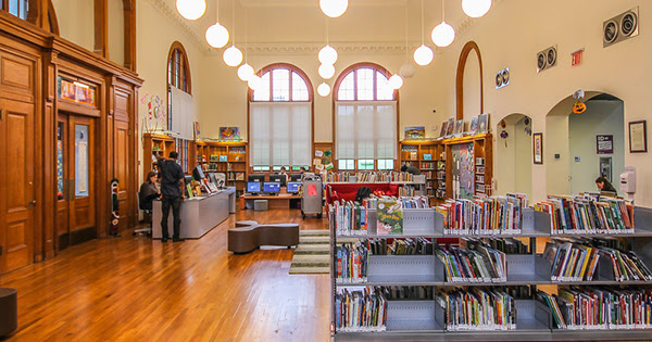 Help Your Favorite Library Branch Win $20,000