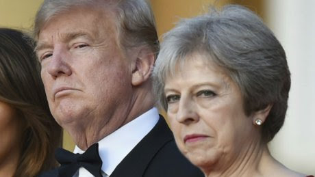 Trump casts doubt on May's Brexit deal in bombshell interview