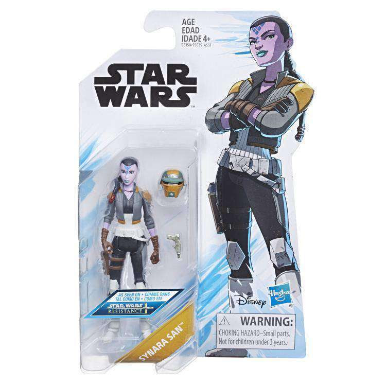 Image of Star Wars Resistance Wave 1 - Synara San figure - FEBRUARY 2019