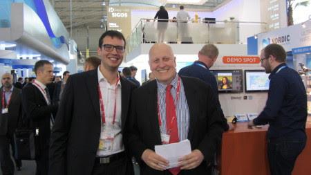 Con Leontxo García, speaker del torneo
