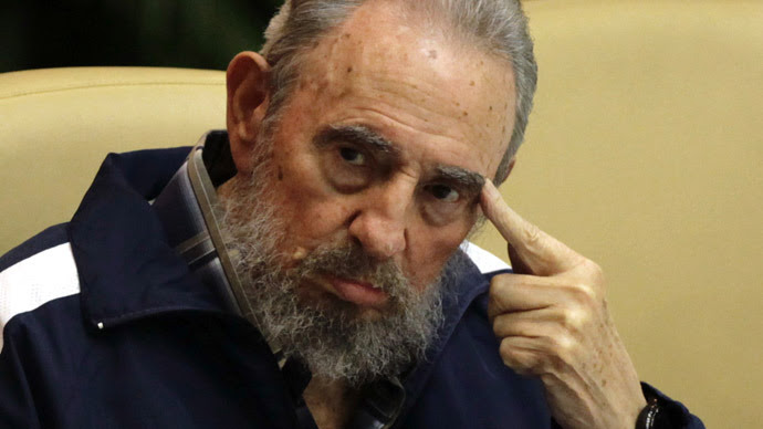 Fidel Castro (Reuters/Desmond Boylan)