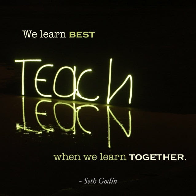 Image result for quotes about learning together