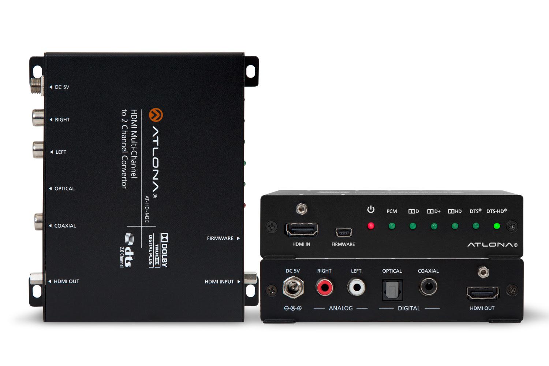 AT-HD-M2C multichannel audio converter