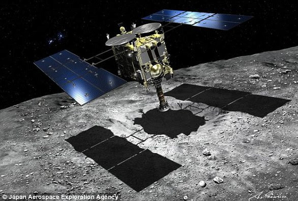 Image result for Japan Hayabusa -2 landed on Ryugu