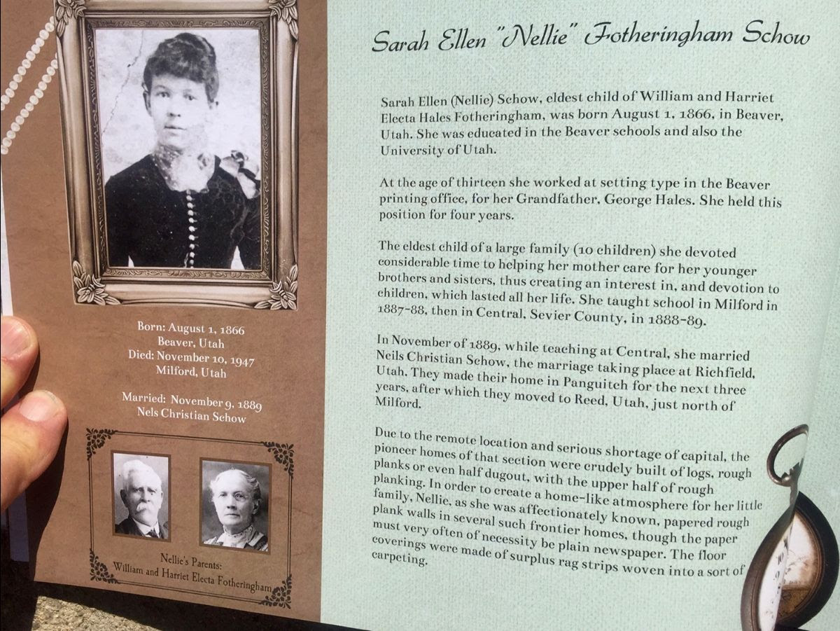 Nellie Fotheringham Schow
