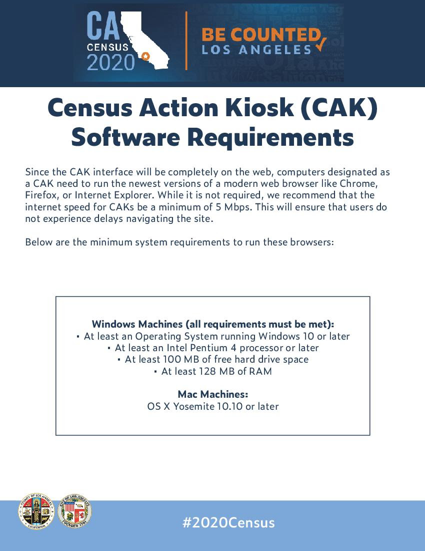 Census Kiosk Requirements Page 2