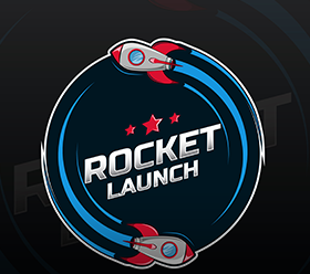 Free Vector: Space rocket ship logo– stock illustration</p><p>