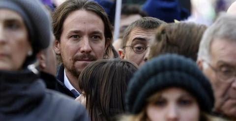 Iglesias Marcha por el Cambio. EFE