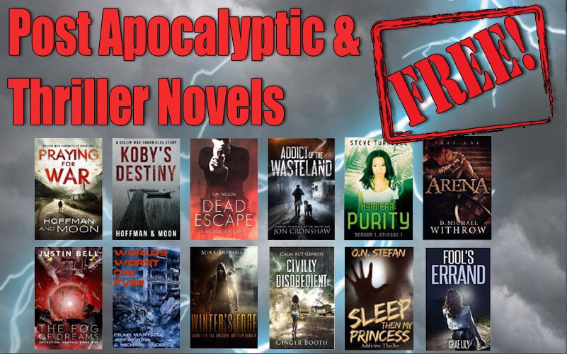 Post apocalyptic and thriller giveaway