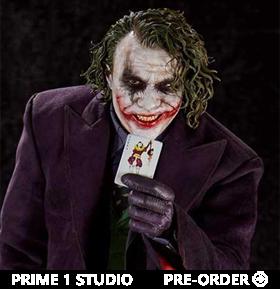 The Dark Knight Museum Masterline The Joker 1/3 Scale Statue (Bonus Ver.)