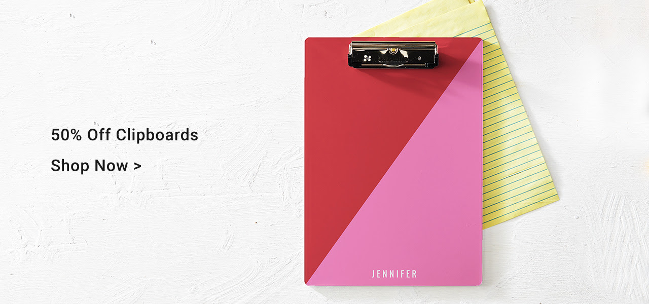 50% Off Clipboards