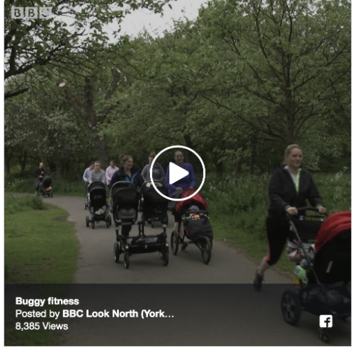 Buggy Beat and Buggy Beat Trainer Andrea Riddoch was featured on last nights BBC News. We are over the moon, I cant beleive how fast this programme has grown  over the last few weeks.