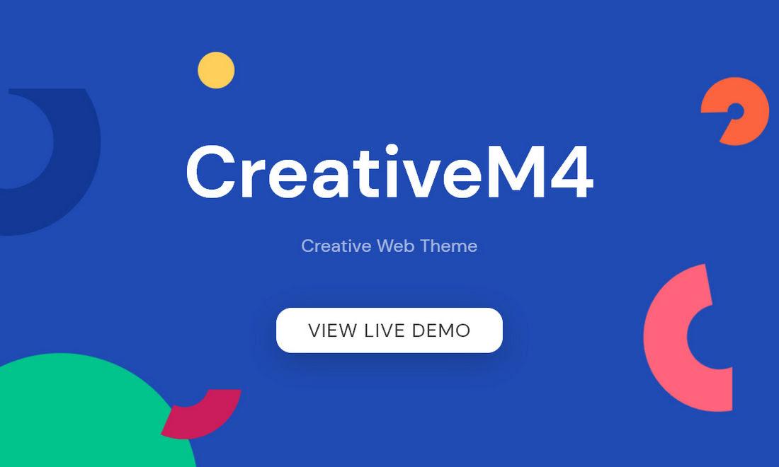CreativeM4 theme promo coupon