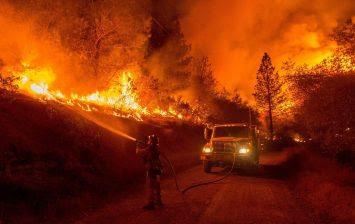 إسرائيل تحترق