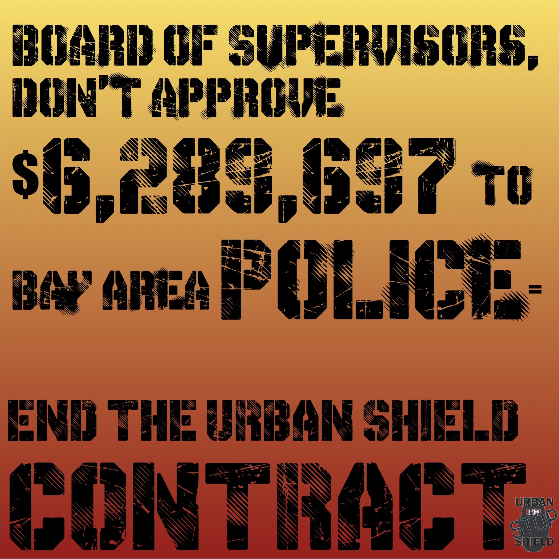 Tell Alameda County Supervisors to Stop Funding Urban Shield @ 5th Floor | Oakland | California | United States