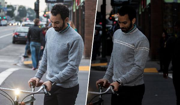 Bike to Work Reflective Sweater