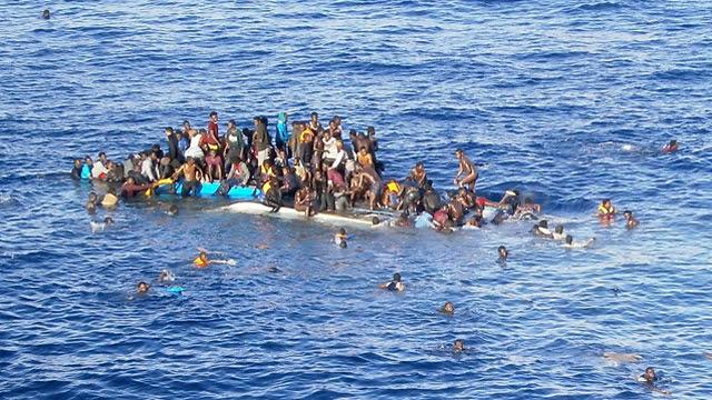 בילד: שיף מיט 90 פאקיסטאנער פליטים געזונקען אין ים נעבן ליביע