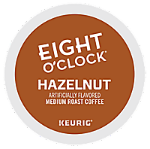 Eight O'Clock Hazelnut Keurig Kcup coffee