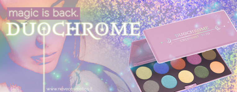 magic is back: palette Duochrome Neve Cosmetics.