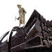 The Iron Man stands as a tribute to the men and women who built the mining industry in the Iron Range region of Minnesota.