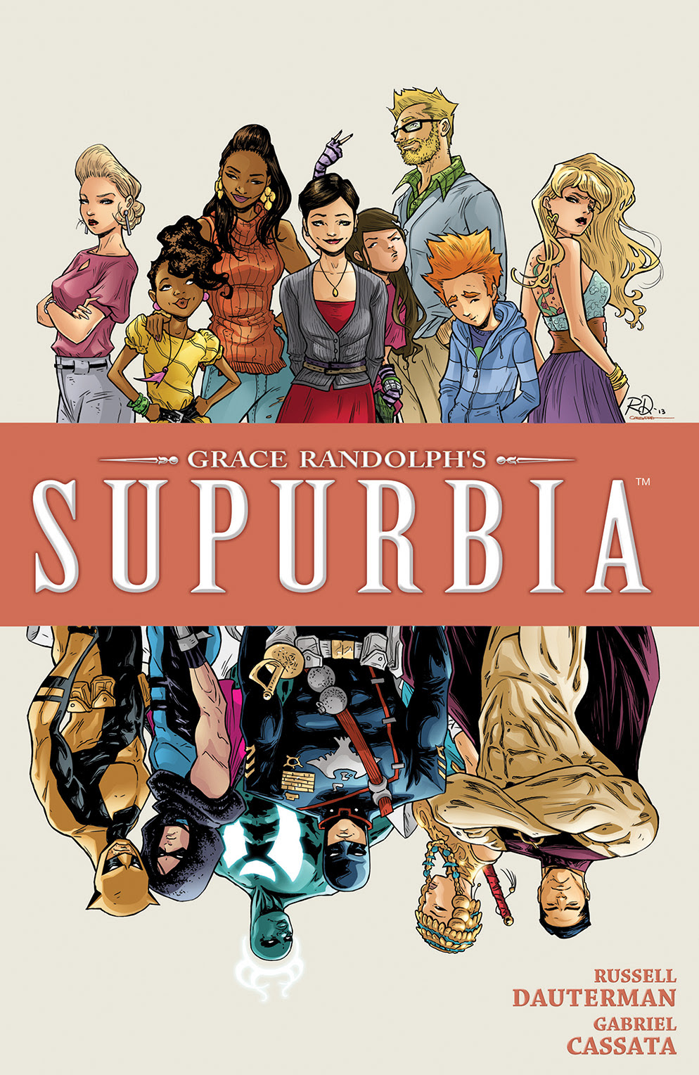 GRACE RANDOLPH'S SUPURBIA VOL 4 TP Cover by Russell Dauterman