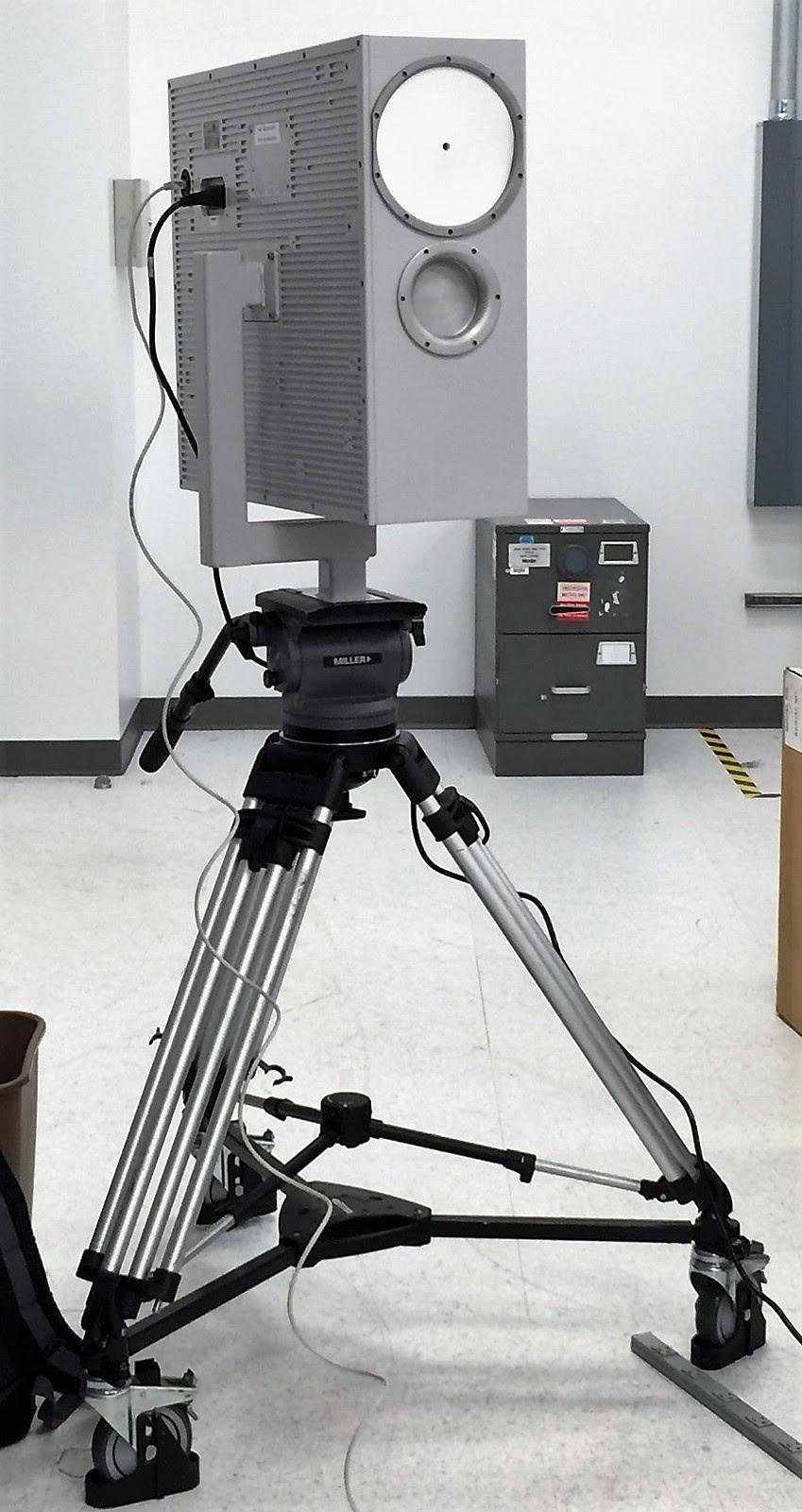 Unidad autónoma de detección de explosivos.  (Foto TSA)