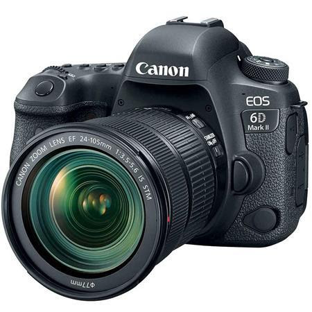 EOS 6D Mark II DSLR with EF 24-105mm f/3.5-5.6 IS STM Lens - With Special Promotional Bund