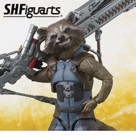 S.H.FIGUARTS ROCKET RACCOON