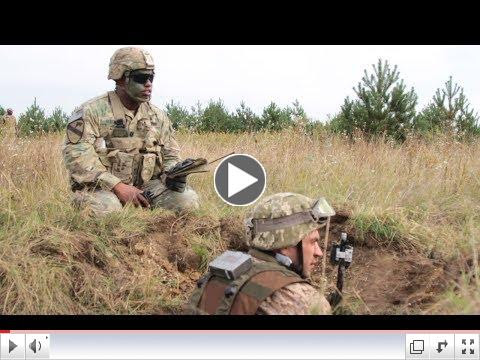 To view video of training exercises during Exercise Rapid Trident 17, please click on image above