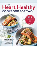 The Heart Healthy Cookbook for Two by Jennifer Koslo