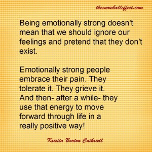 emotionally strong