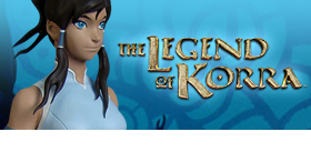 The Legend of Korra Statue