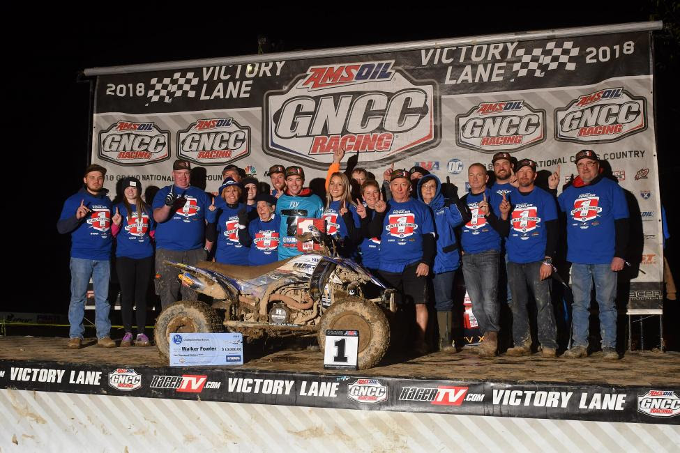 Walker Fowler secured his 4th GNCC ATV National Championship one round early.