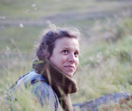 Headshot of artist Julie Van Grol