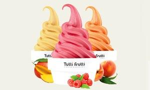 Up to 40% Off Frozen Yogurt at Tutti Frutti
