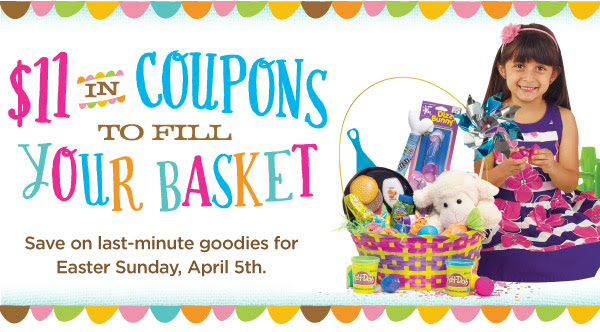$11 in Coupons to Fill Your Basket