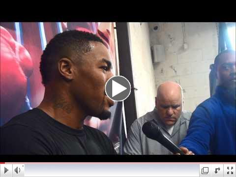 Willie Monroe Jr. media workout interview