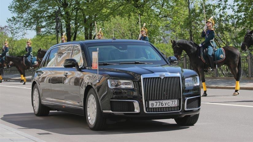 El presidente de Rusia utiliza ahora una limusina rusa: Los detalles del novedoso proyecto Kortezh