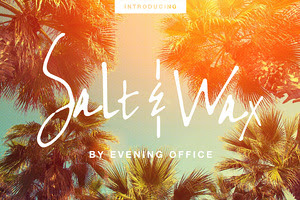 Salt & Wax | Handwritten Font